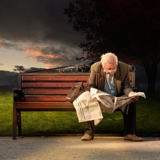 FineArt_Bench_071_Reading_The_Newspapper