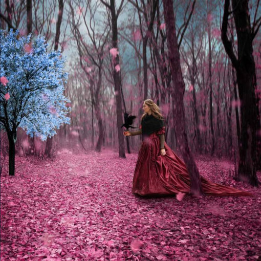 FineArt_Surreal_009_Alice_And_The_Mystery_Tree